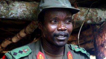 Joseph Kony, courtesy of the BBC