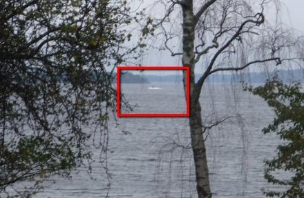 Possible Russian Submarine off the Coast of Sweden, courtesy of BI.