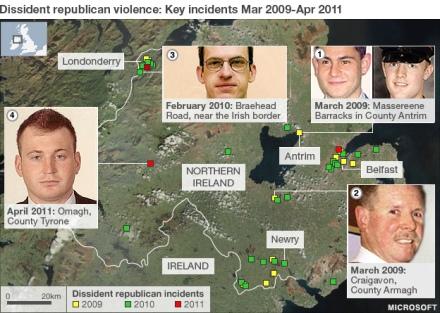 Real IRA AO, courtesy of the BBC